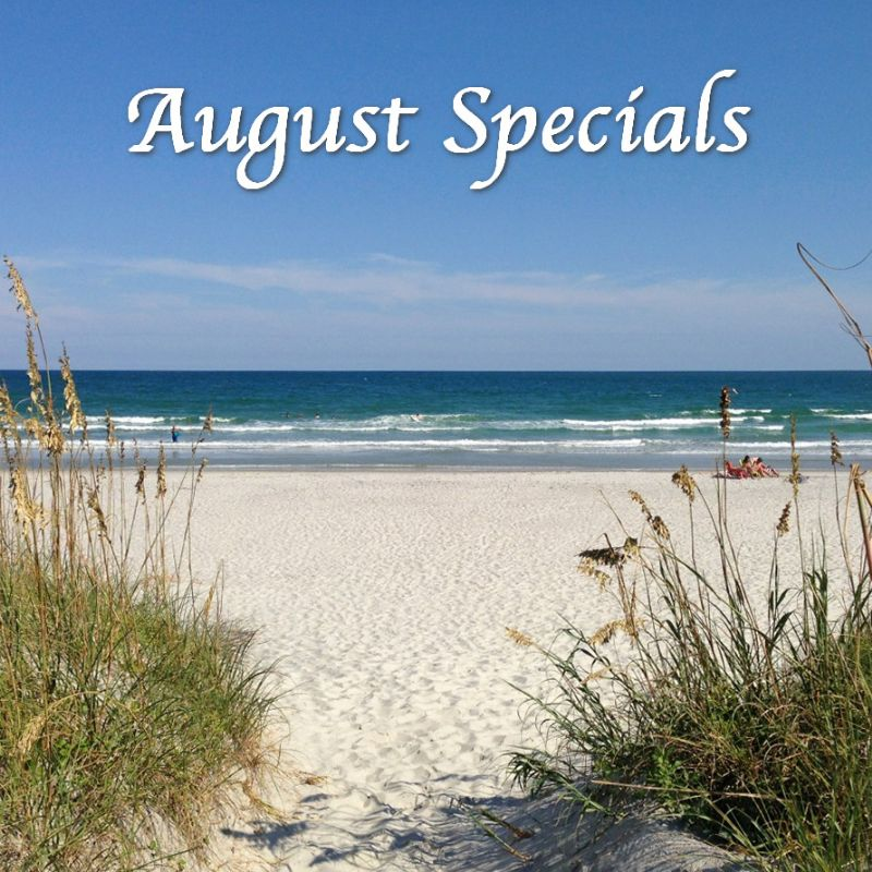 Topsail Vacation Deals for August