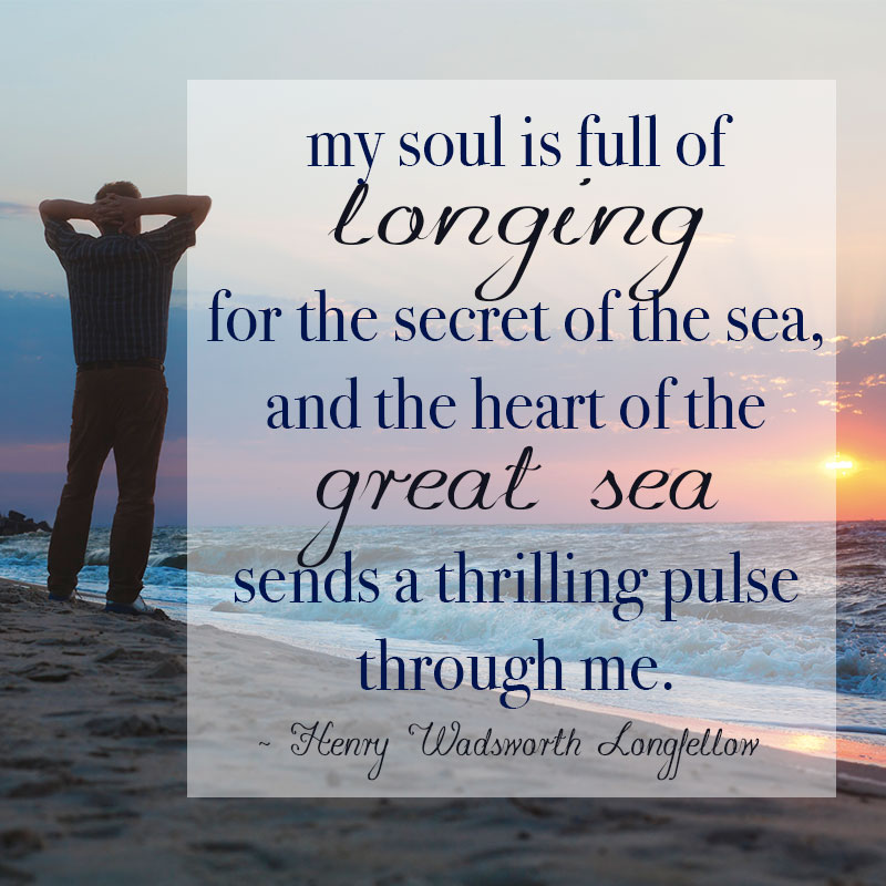 Longing For the Secret of the Sea
