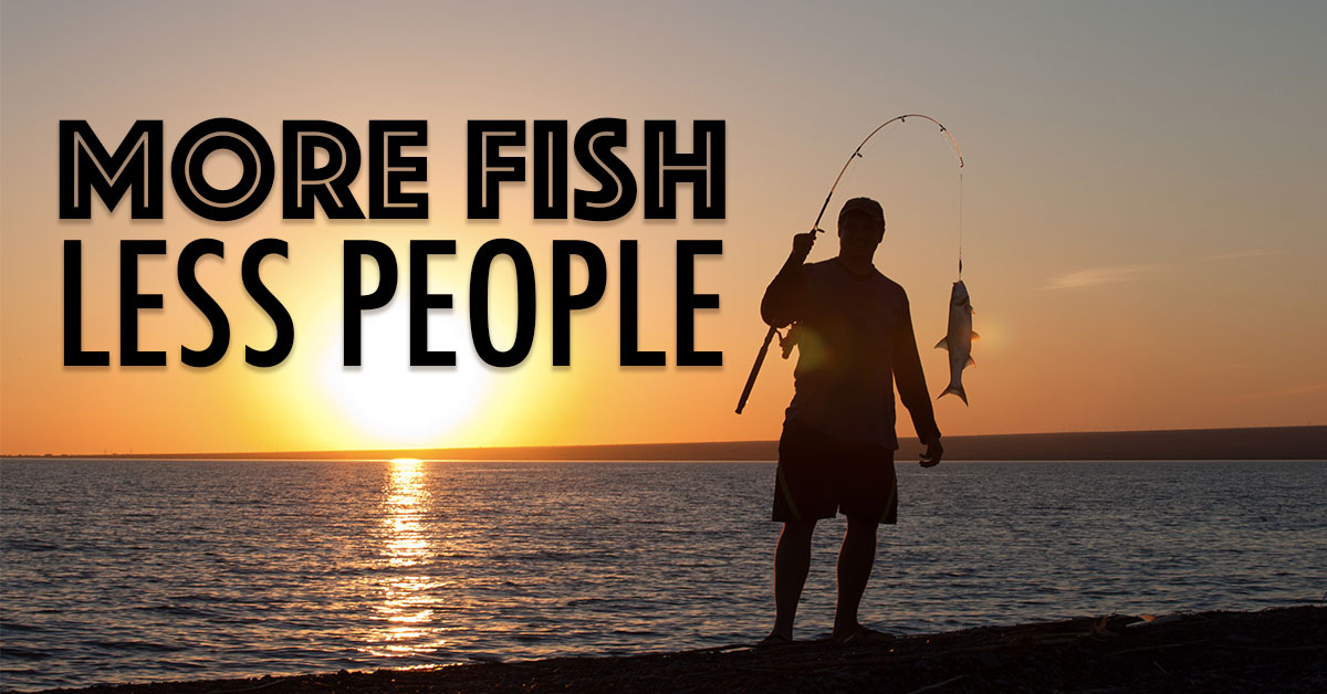 More Fish, Less People