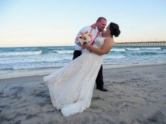 Wedding photo on Topsail Island | Ward Realty