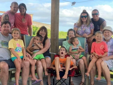Family photo on Topsail Island | Ward Realty