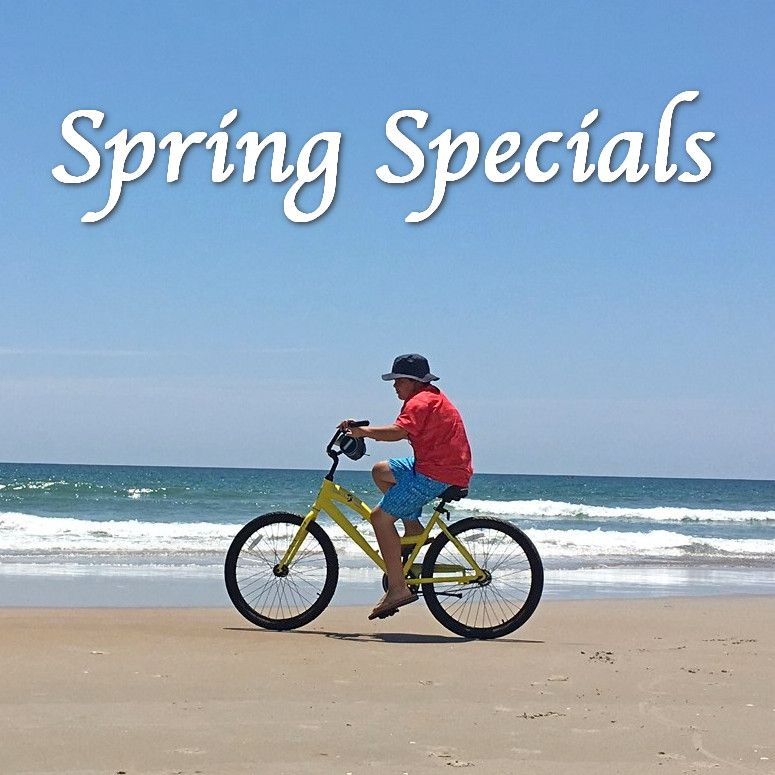 Topsail Rental Rate Discounts for Spring