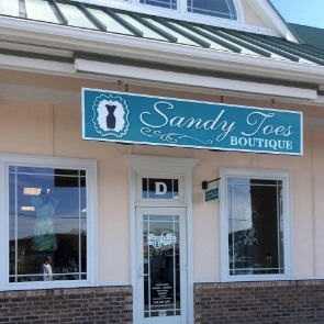 sandy toes boutique | Ward Realty Topsail Island