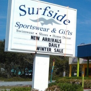surfside sportswear and gifts | Ward Realty Topsail Island