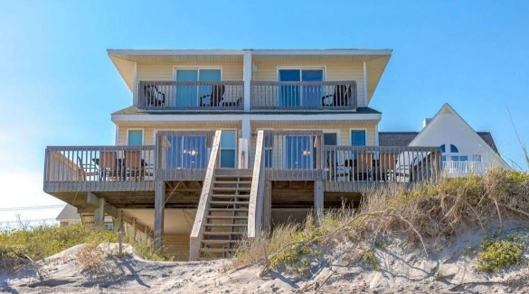 Beach Blessing North vacation rental duplex | Ward Realty