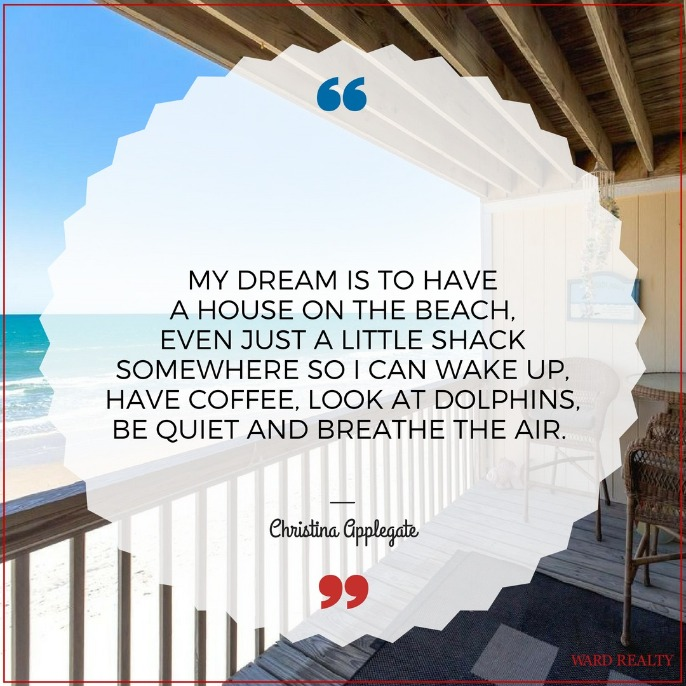 beach quote | Ward Realty Topsail Island