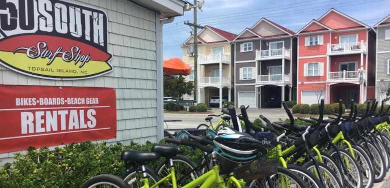 50 South Surf Shop bike rentals | Ward Realty