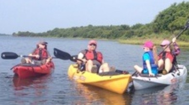 people kayaking | Ward Realty Topsail Island