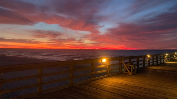 Jolly Roger Fishing Pier on Topsail Island | Ward Realty